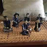 Bronze Musicians from Burkina Faso