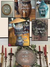 Assorted Decorative Items