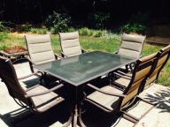 Patio table/chairs
