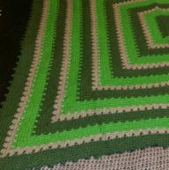 Hand Made Crocheted Throw/Blanket
