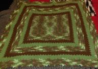 Boys Hand Made Crocheted Baby Blanket