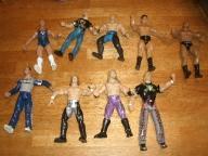 9 wrestling action figures