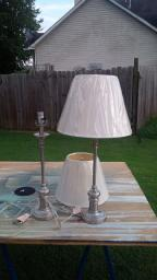 end table lamps set of 2