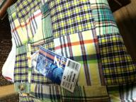 yellow, green, white plaid shorts                   waist 42
