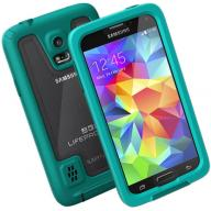 Galaxy S5 Life Proof case Green