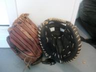Mizuno Fielder's and Wilson catchers softball gloves
