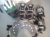 Men's lacrosse gear: full body package