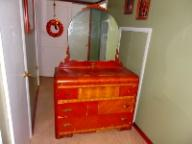 Antique 3 Drawer Dresser w/mirror