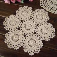 Dollies Crochet table cloth