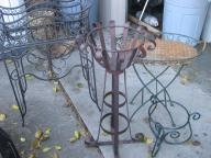 Plant Stands / Pots  wrougth iron