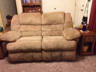 Rocking Recliner Love Seat & matching recliner