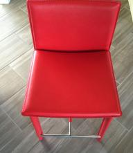 Home Depot Janet Counter Stools in Red