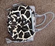 Animal print purse