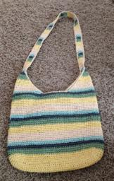 Straw Crossbody purse