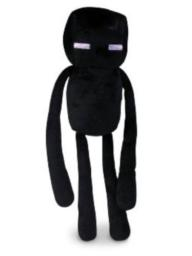 Minecraft Plush Enderman - New