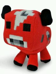 Minecraft Mooshroom Plush -- NEW