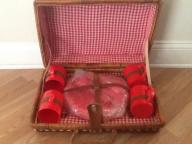 Wicker Rattan Picnic basket for 4 Brand New. Never Used.