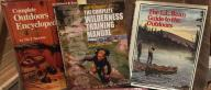 Various Outdoor Books for Sale