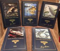 Set of 5 North American Fishing Club (NAFC) Books