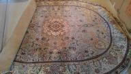 Oval Oriental Rug - Light Green