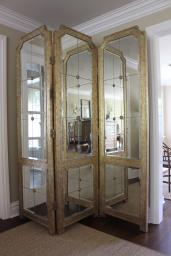 MIRROR-ELEGANT 3 PANEL FLOOR MIRROR-PRICE REDUCED!!