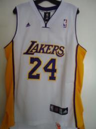 Throuback NBA Lakers LA # 24 Bryant Puple Jersey Size L