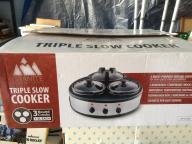 Crock Pot--Triple size cooker