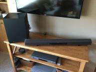 Sony Subwoofer and Sound Bar