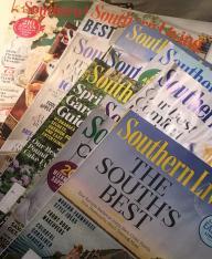 Southern Living Magazine Jan 2017-Dec 2017