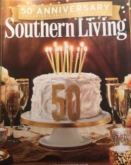 Southern Living Magazine 50th Anniversary Collector's Edition