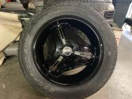 20 inch helo wheels and Perelli tires fits 6 lug Gmc & Chevy