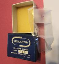 Miranda Sensorex Focusing Screen type QIS