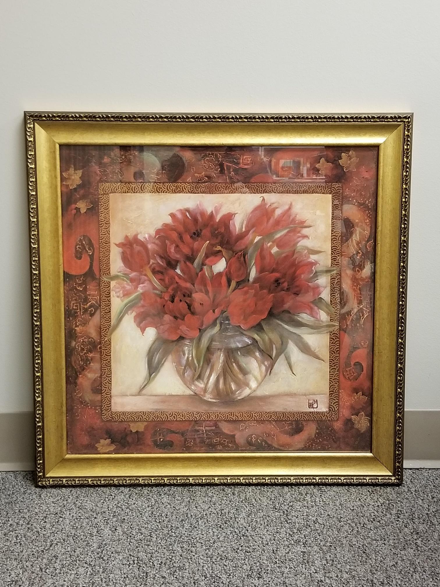 Framed Wall Art Roses