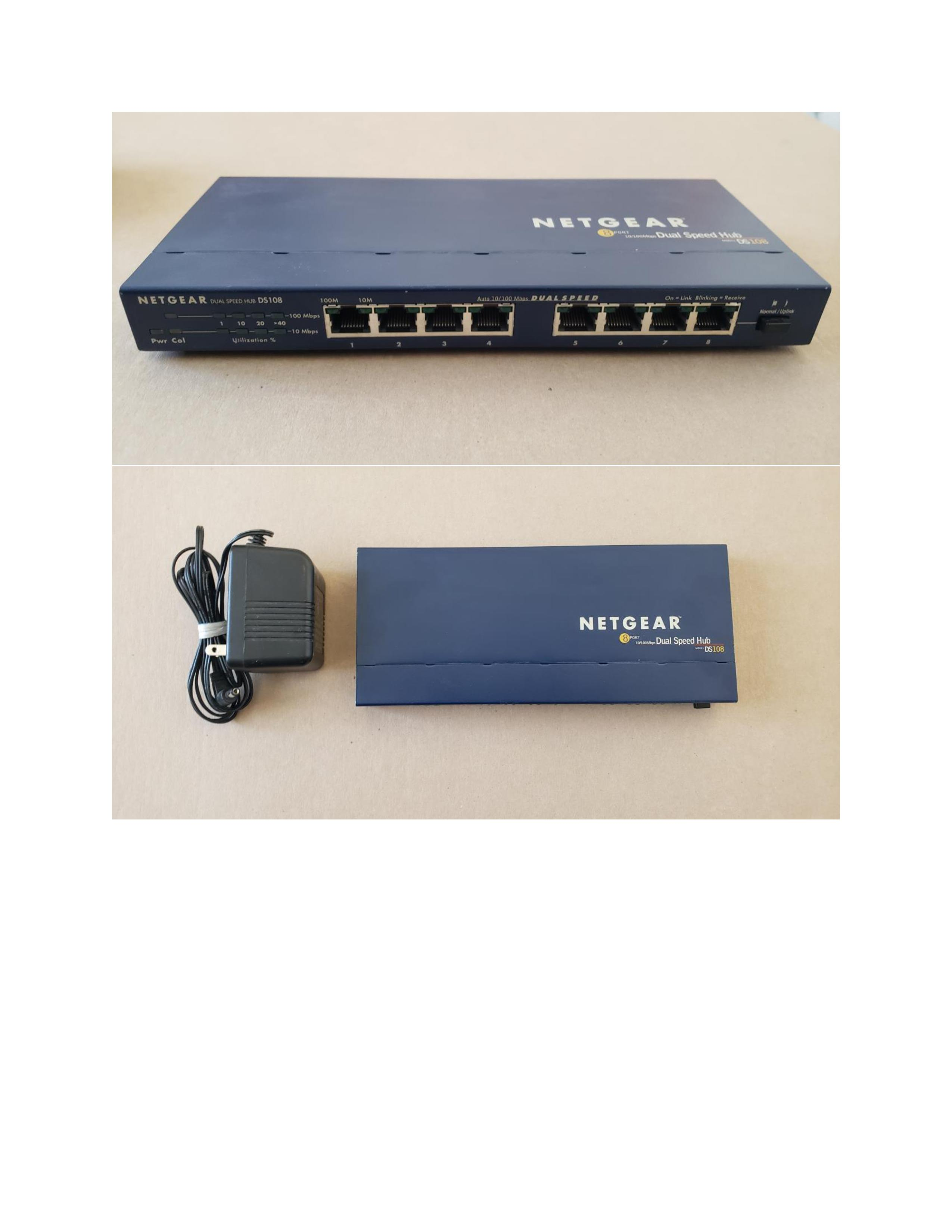 8 Port Dual Speed Hub