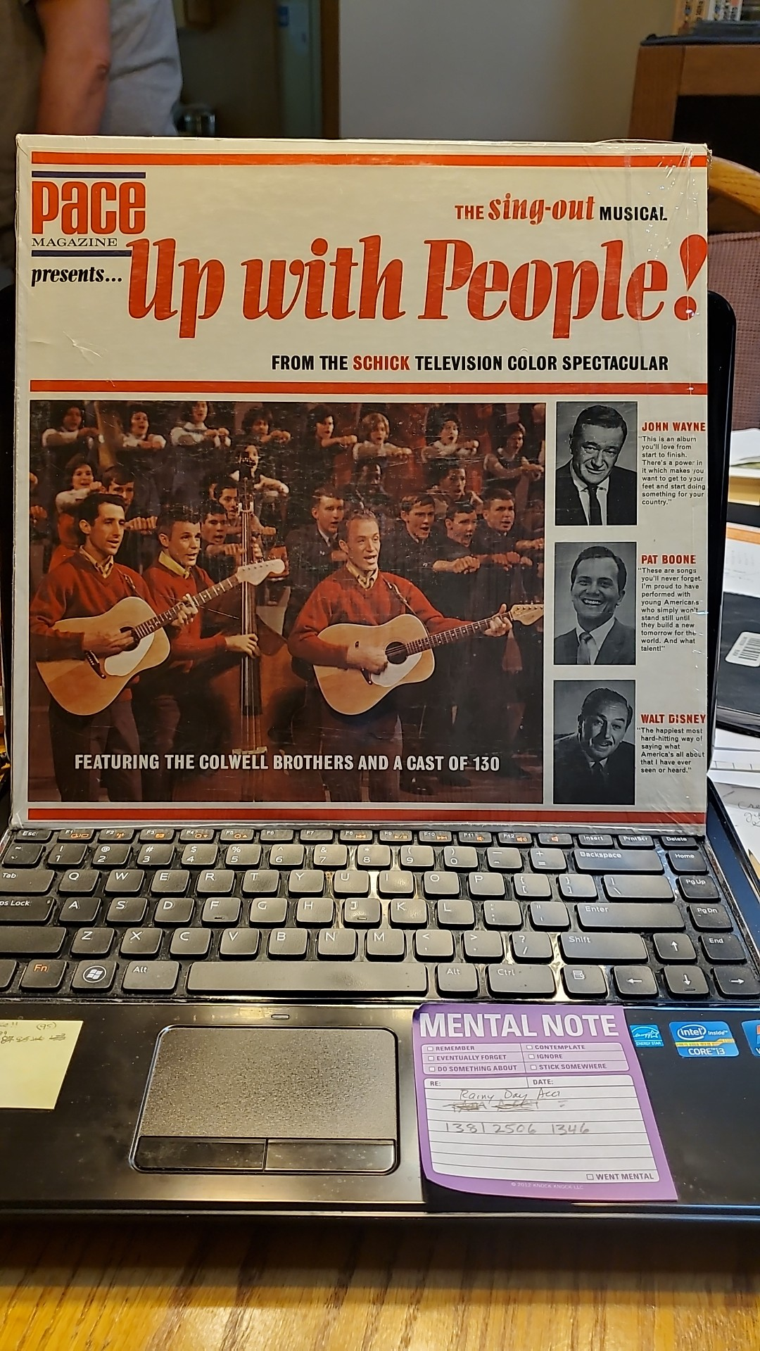 Up with People Vinyl Record