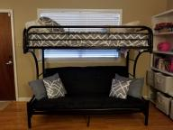 Futon Bunk Bed Combo