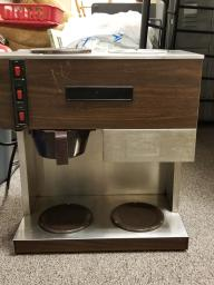 Commercial 2 Pot Coffee Maker