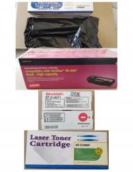 Various Printer Toner Cartridges