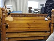 Queen Size Wooden Footboard