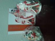 Fitz and Floyd Cardinal Christmas Salt & Pepper Shaker